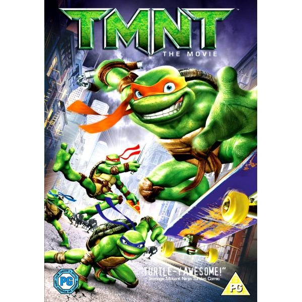 TMNT - Teenage Mutant Ninja Turtles - The Movie DVD