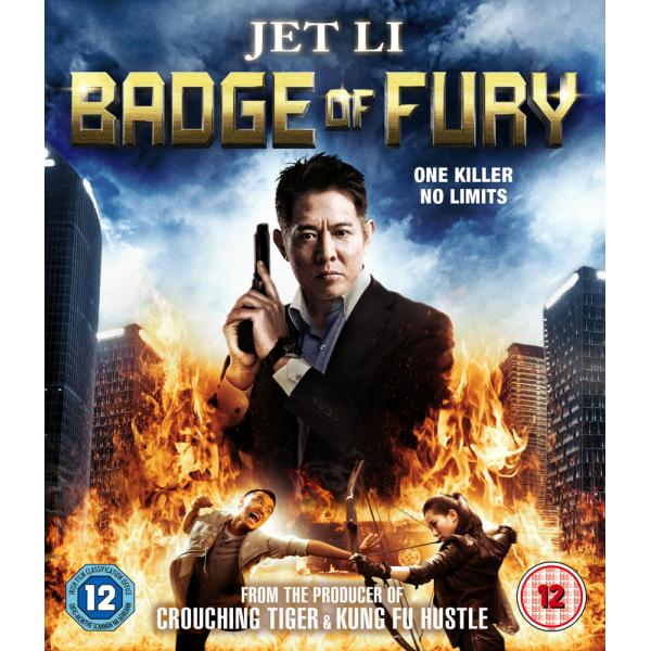 Badge Of Fury Blu-Ray