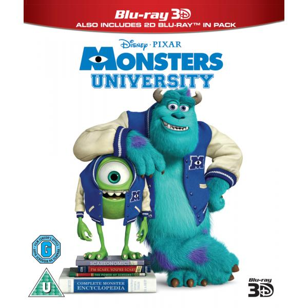 Monsters University 3D+2D Blu-Ray