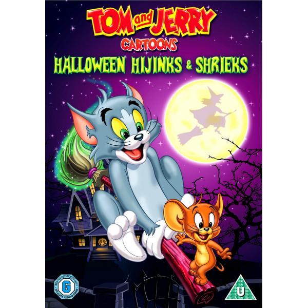 tom and jerry  halloween hijinks  shrieks dvd  deff