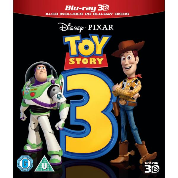 Toy Story 3 3D+2D Blu-Ray