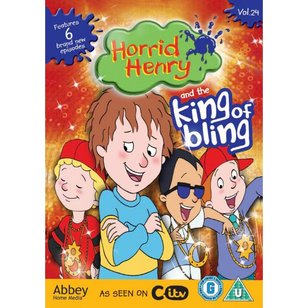 Horrid Henry - And The King Of Bling DVD