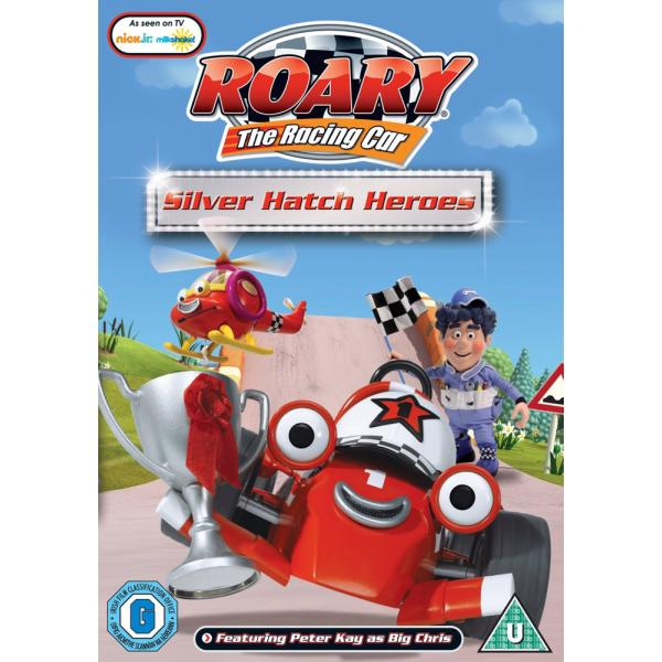 Roary The Racing Car - Silver Hatch Heroes DVD