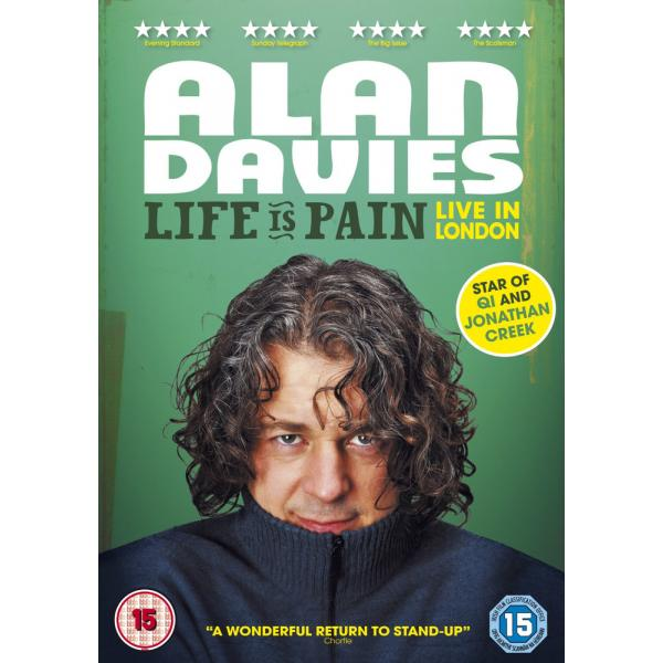 Alan Davies - Life Is Pain - Live In London DVD