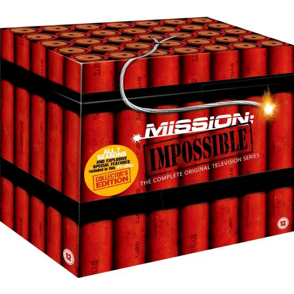 Mission Impossible Series 1 to 7 Complete Collection DVD