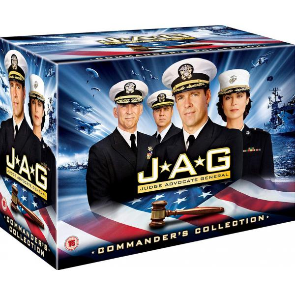 JAG Seasons 1 to 10 Complete Collection DVD