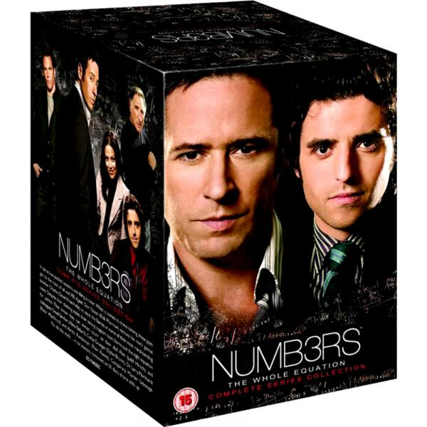 Numb3rs Seasons 1 to 6 Complete Collection DVD