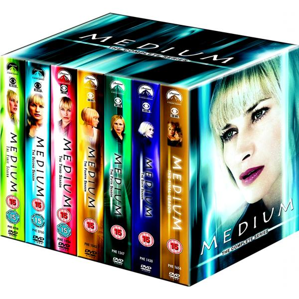 Medium Seasons 1 to 7 Complete Collection DVD