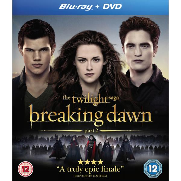 The Twilight Saga - Breaking Dawn - Part 2 Blu-Ray