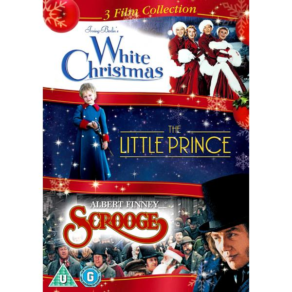 White Christmas / The Little Prince / Scrooge DVD