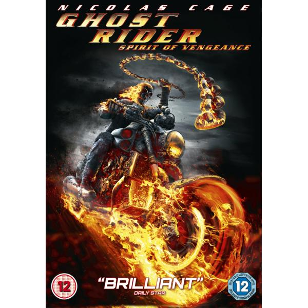 Ghost Rider - Spirit Of Vengeance DVD
