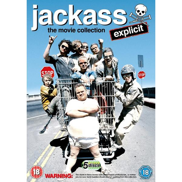 Jackass - The Movie Collection (5 Films) Explicit DVD