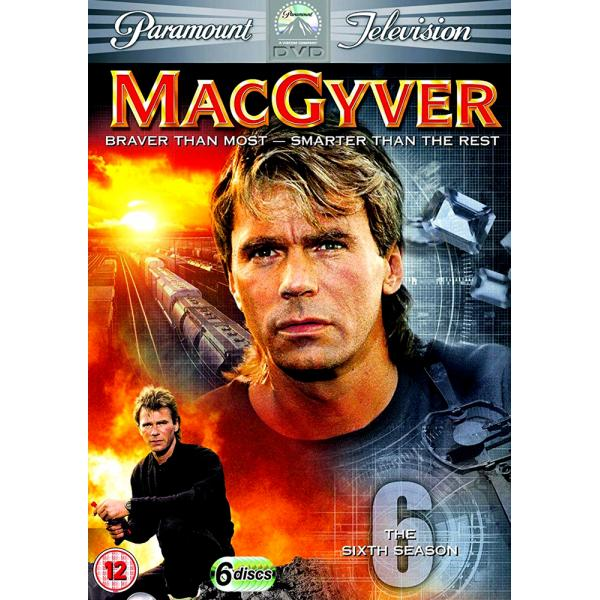 MacGyver (Original) Season 6 DVD