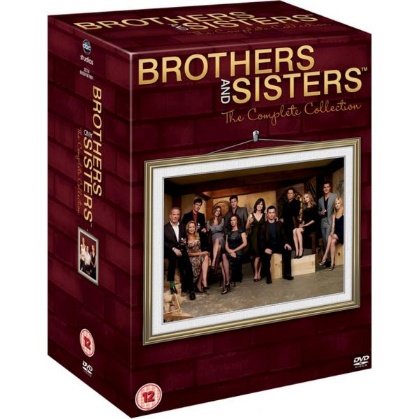 Brothers And Sisters Seasons 1 to 5 Complete Collection DVD