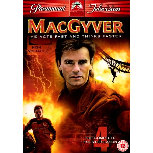 MacGyver (Original) Season 4 DVD