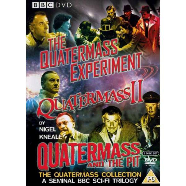 The Quatermass Experiment / Quatermass II / Quatermass And The Pit DVD