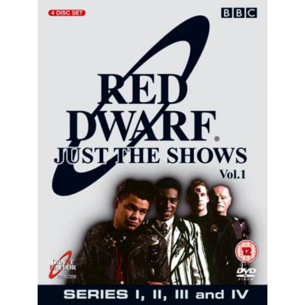 Red Dwarf Series 1 To 4 DVD