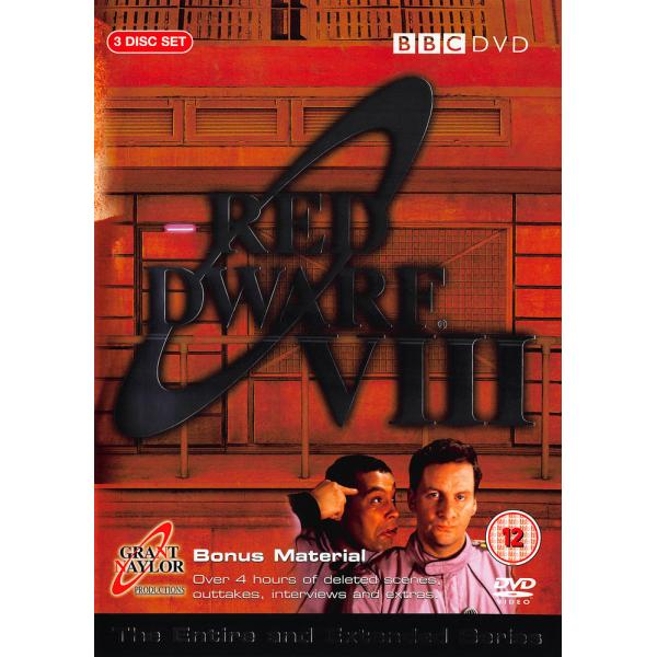 Red Dwarf Series 8 (Series VIII) DVD