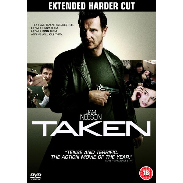 Taken - Extended Harder Cut DVD
