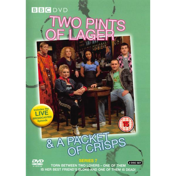 Two Pints Of Lager & A Packet Of Crisps Series 7 DVD