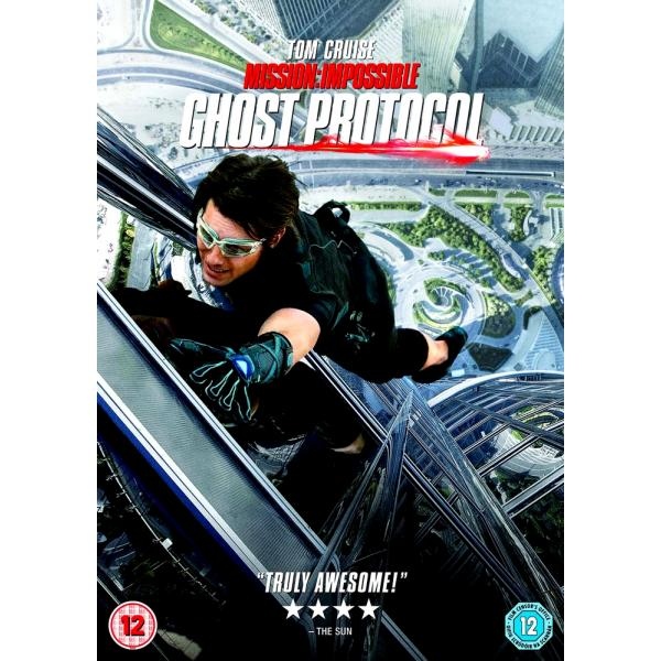 Mission Impossible 4 - Ghost Protocol DVD