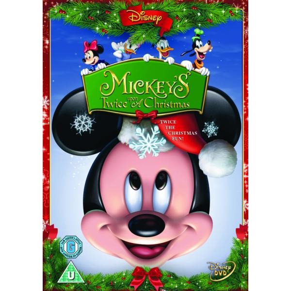Mickey Mouse - Mickeys Twice Upon A Christmas DVD