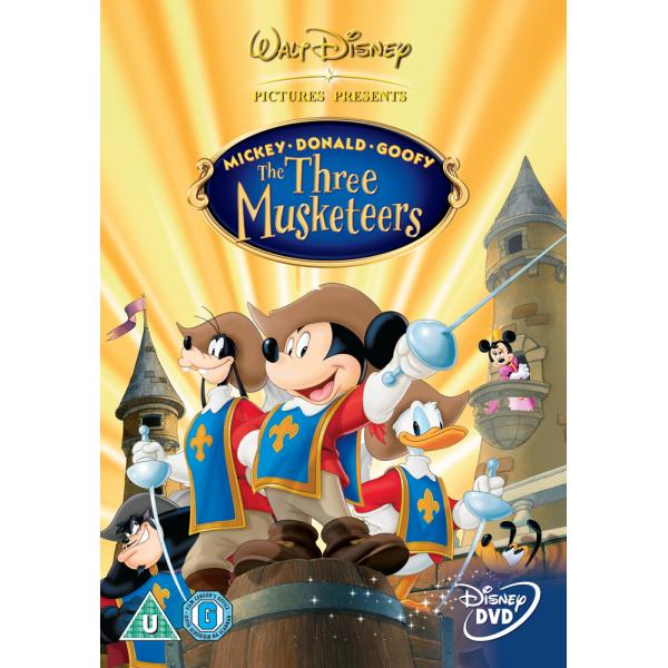 Mickey Mouse - Mickey, Donald, Goofy - The Three Musketeers DVD