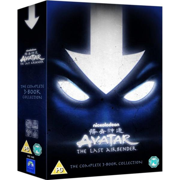 Avatar - The Last Airbender - The Complete 3 Book Collection DVD