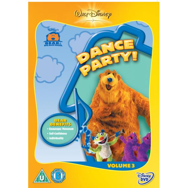 Bear In The Big Blue House - Dance Party! DVD