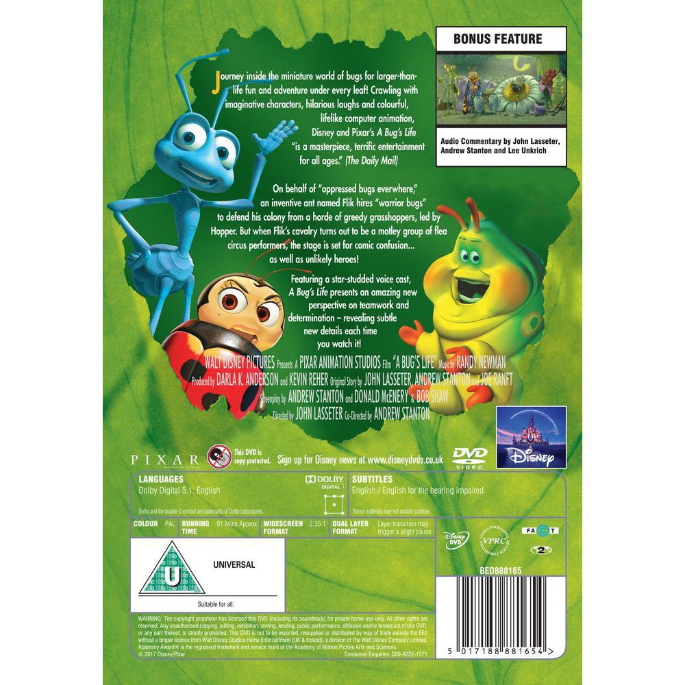 A Bugs Life Dvd Deff Com