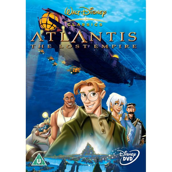 Atlantis - The Lost Empire DVD