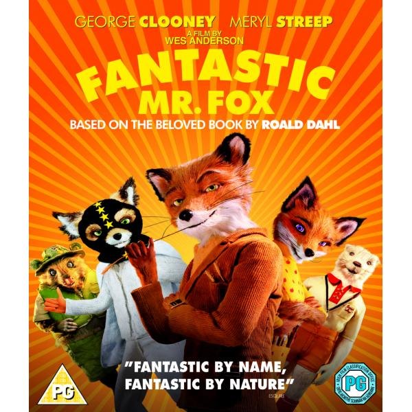 Fantastic Mr Fox Blu-Ray