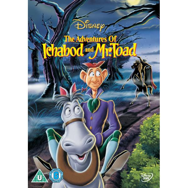 The Adventures Of Ichabod And Mr Toad DVD