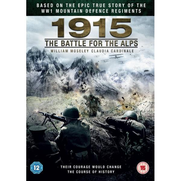 1915 The Battle For The Alps DVD