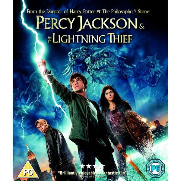 Percy Jackson & The Lightning Thief Blu-Ray