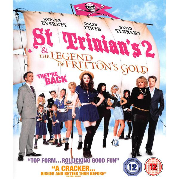 St Trinians 2 - The Legend Of Frittons Gold Blu-Ray