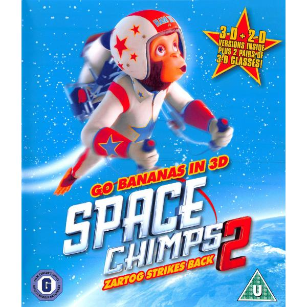 Space Chimps 2 - Zartog Strikes Back 3D+2D Blu-Ray