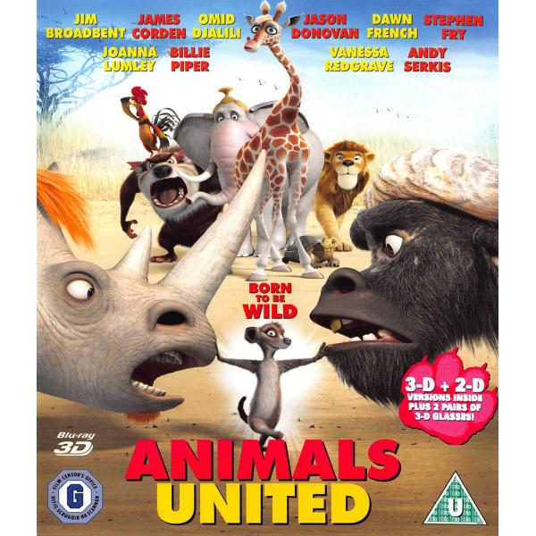 Animals United 3D+2D Blu-Ray