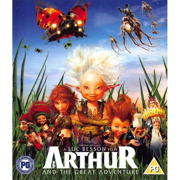 Arthur And The Great Adventure Blu-Ray