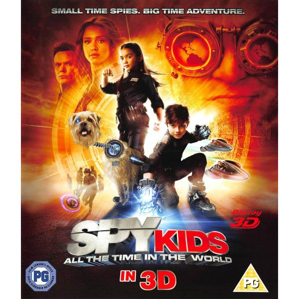 Spy Kids 4 - All The Time In The World 3D Blu-Ray