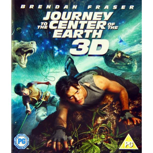 Journey To The Center of The Earth 3D+2D Blu-Ray