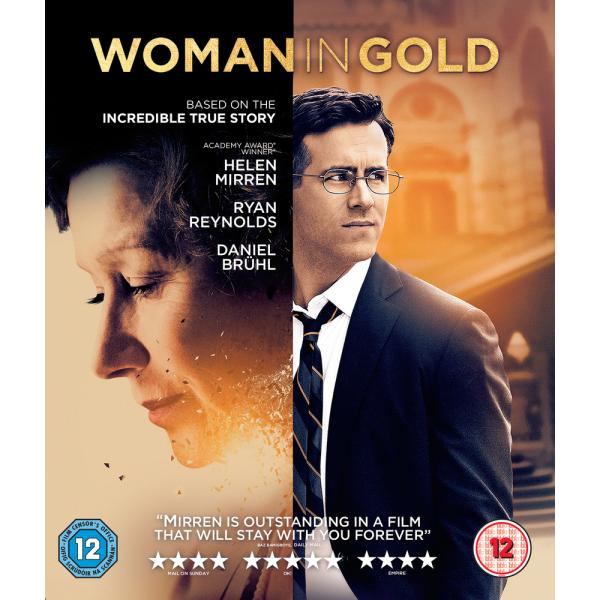 Woman In Gold Blu-Ray