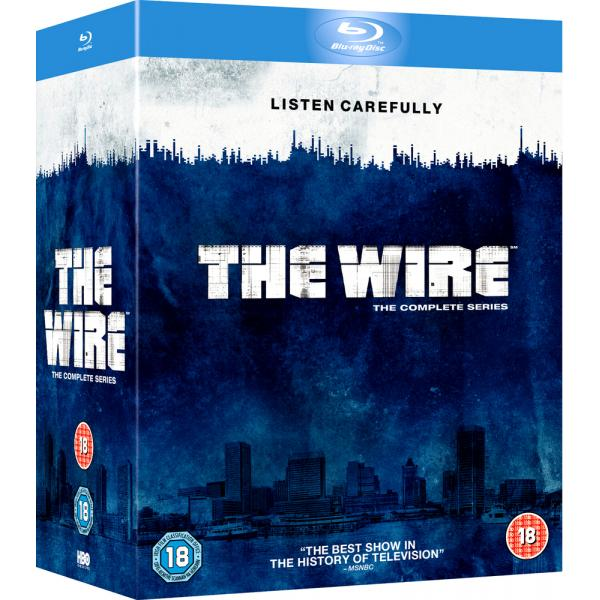 The Wire Seasons 1 to 5 Complete Collection Blu-Ray