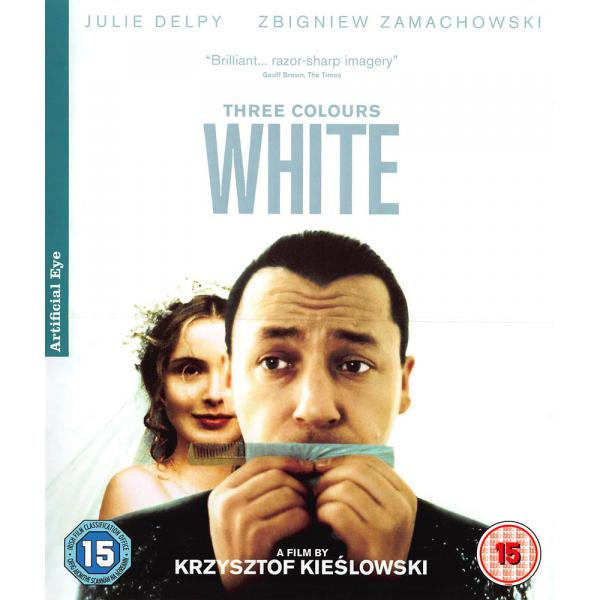 Three Colours - White Blu-Ray