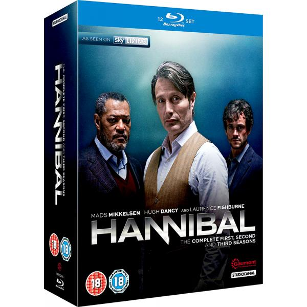 Hannibal Seasons 1 to 3 Complete Collection Blu-Ray
