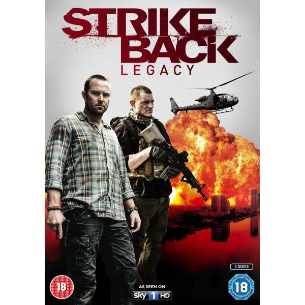 Strike Back - Legacy - The Complete Mini Series DVD