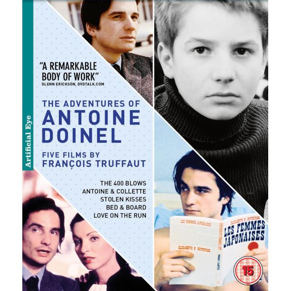 The Adventures Of Antoine Doinel (5 Films) Blu-Ray