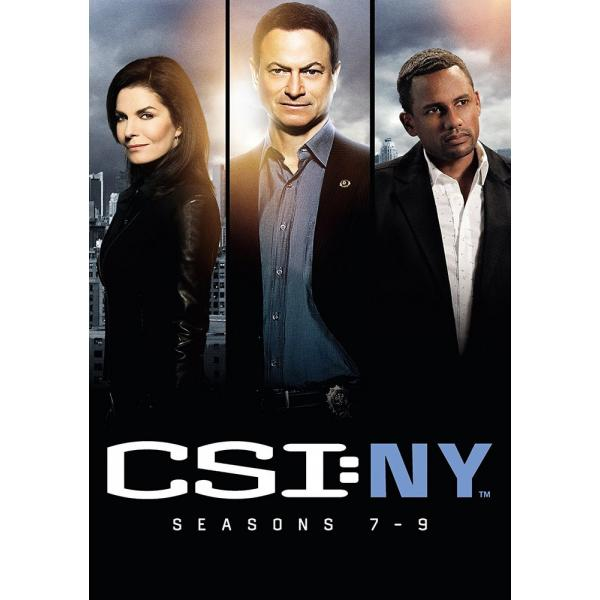 CSI New York Seasons 7 to 9 DVD