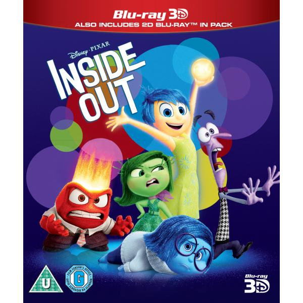 Inside Out 3D+2D Blu-Ray