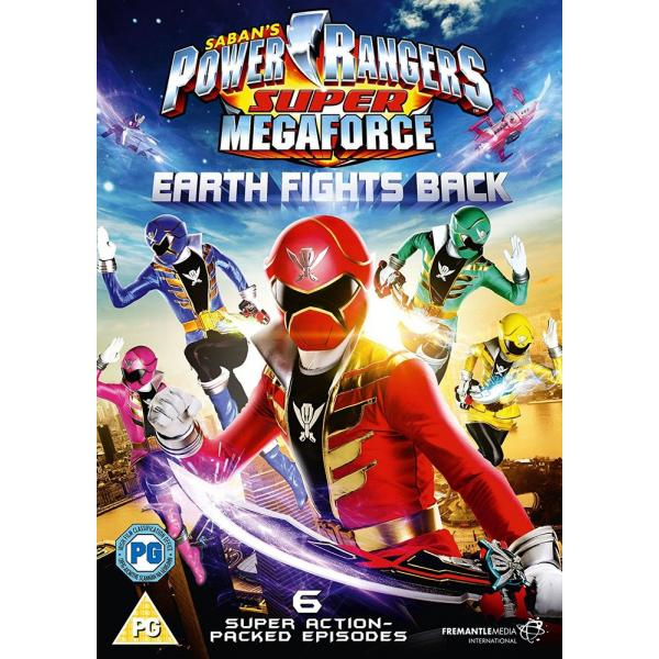 Power Rangers - Super Megaforce - Volume 1 - Earth Fights Back DVD